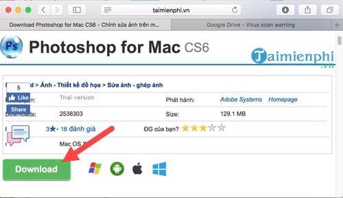 cach cai photoshop cs6 cho mac 2