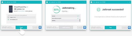 jailbreak ios 8.4 taig