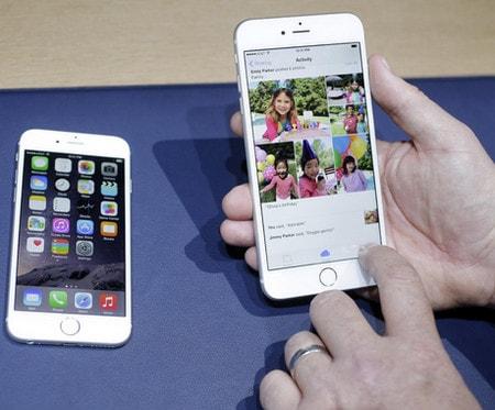 cac loi thuong gap tren iphone 6 plus, 6, ip 5s, 5