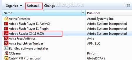 Adobe Reader - Fix