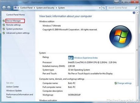 Fix Bluetooth not working on Windows 7