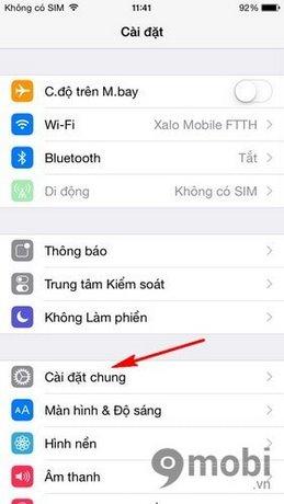 iPhone bi mat safari