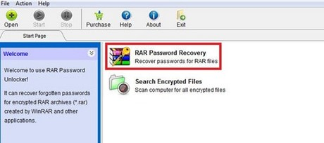Khoi phuc mat khau WinRar bang RAR Password Unlocker