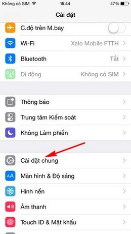 Activate, lights flash when a call or text messages to the iPhone 6