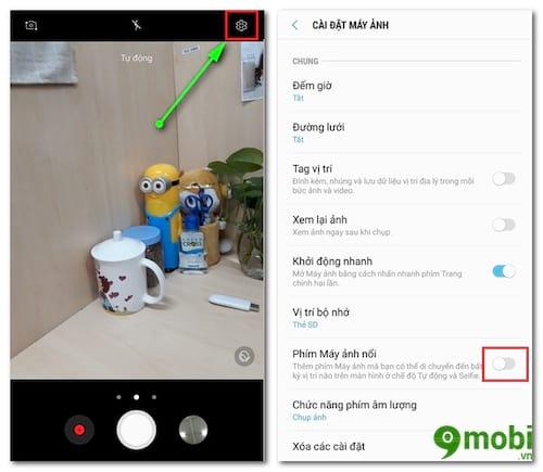 Cách bật phím chụp ảnh nổi trên Samsung J7 Pro