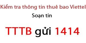 check thong tin ca nhan sim viettel