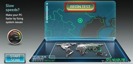 kiem tra toc do internet speedtest