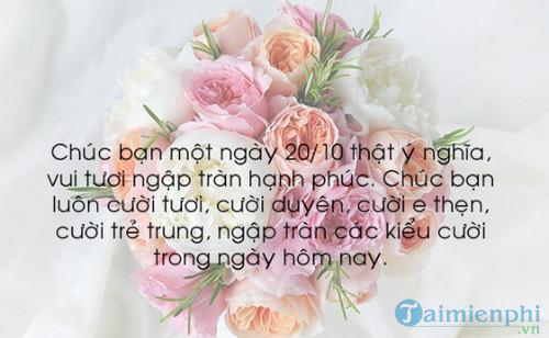 loi chuc 20 10 cho dong nghiep 2