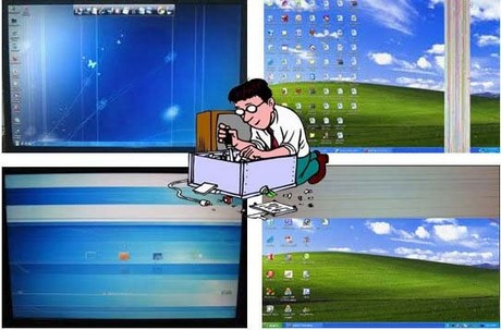 fix loi man hinh laptop