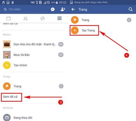 lap fanpage facebook