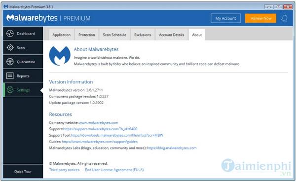 malwarebytes sua loi windows 7 dong bang trong ban cap nhat moi 2