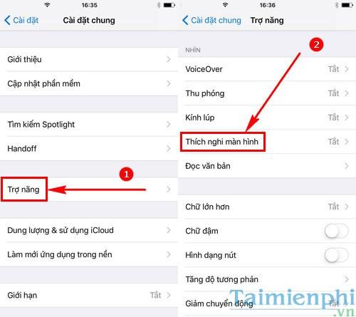 man hinh iphone 7 7 plus bi loi mau vang day la cach khac phuc 2