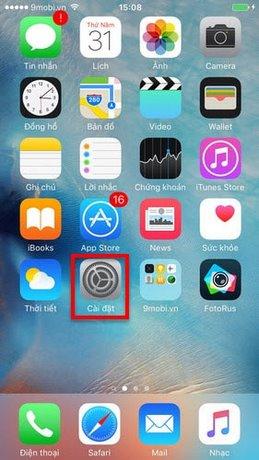 Thay đổi màu màn hình trên iPhone