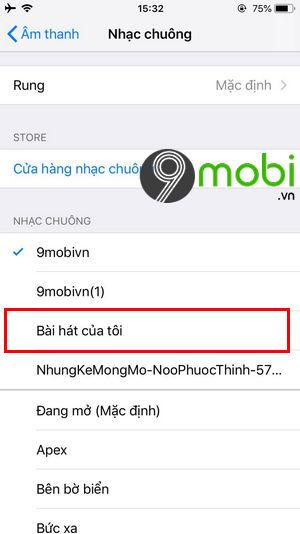 meo xoa nhac chuong tren iphone khong can may tinh 2