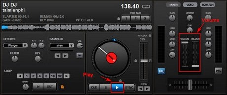 Simple mixing with Virtual DJ Pro