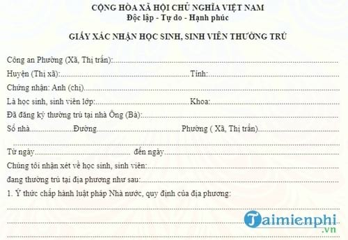mot so mau to khai xac nhan co the ban se dung 2