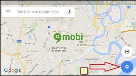 nghe google maps dan duong bang giong noi tieng viet