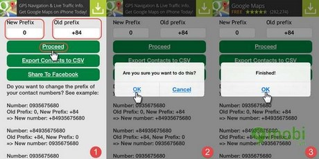 khac phu loi danh ba +84 tren iphone