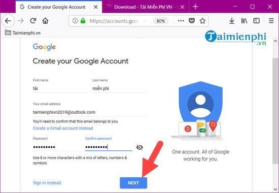 cach su dung google drive va cac dich vu cua google khong can gmail 2
