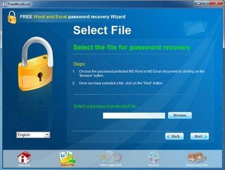 Download FREE Word Excel password recovery Wizard
