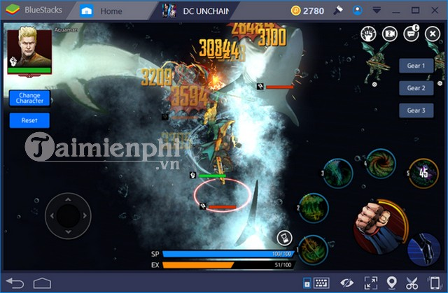 phim nong game dc unchained 2
