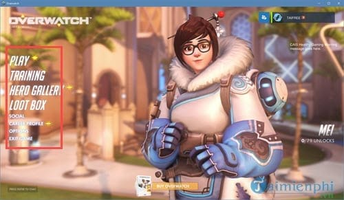 phim tat overwatch thiet lap hotkey cho heroes trong game overwatch 2