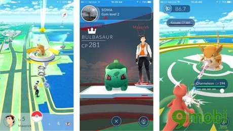 phong gyms trong pokemon go la gi