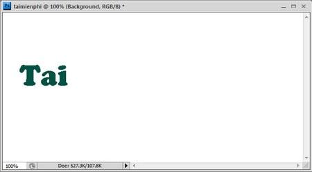"""Tiếp tục tạo một file Text thứ 2, gõ """"mien"""" đặt sát"""