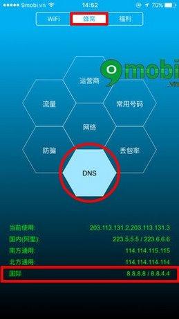 xem Ping Wifi tren iPhone
