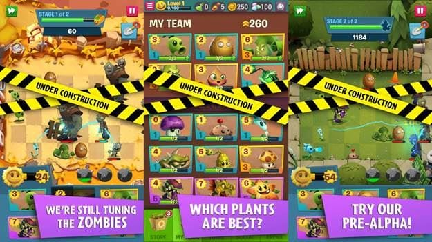 plants vs zombies 3 cho nguoi dung trai nghiem som tren android 2