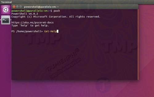 powershell cho ubuntu co san duoi dang snap 2