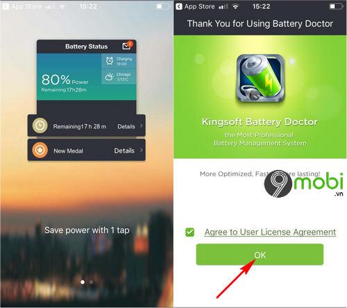 Cách sử dụng Battery Doctor trên điện thoại iPhone, Android