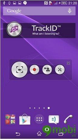 cách quay video màn hình Sony Xperia Z3