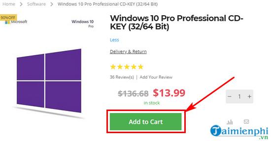 ban quyen windows 10 pro va office 2016 pro 2