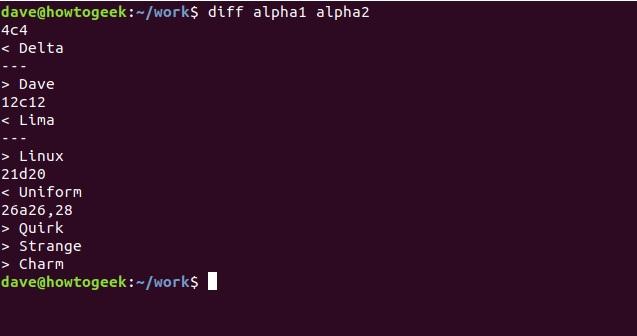 so sanh 2 file text file van ban tren linux terminal 2