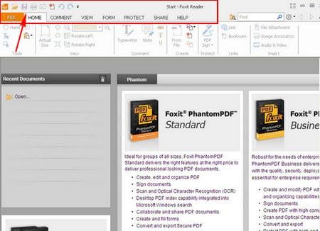 doc file pdf voi foxit reader