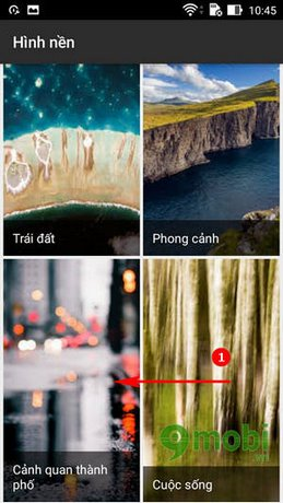 cach dung google wallpaper cho android