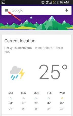 google now bang tieng viet