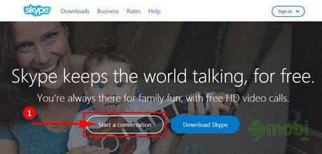 chat skype khong can tai khoan