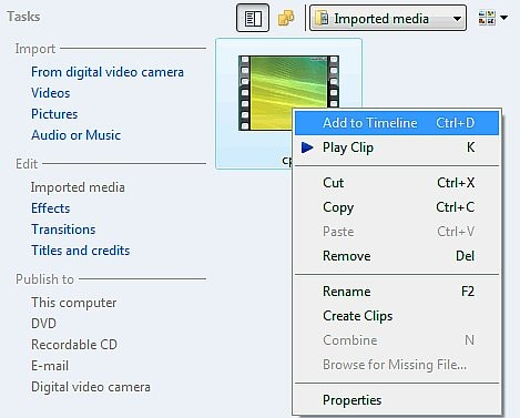 sua video windows movie maker