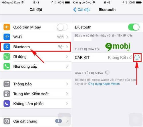 sua loi bluetooth iphone 7 7plus khong hoat dong 2