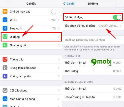 sua loi iphone ipad khong vao duoc 3g 4g 2