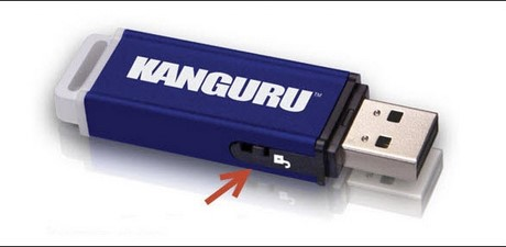how to change a usb drive from write protected