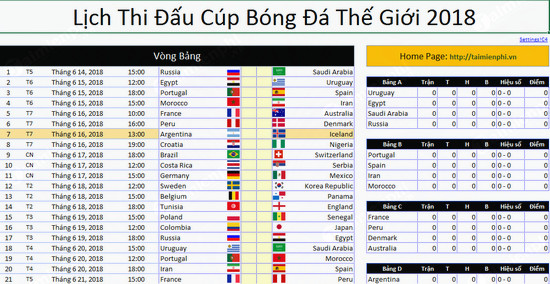 tai lich thi dau world cup 2018 cho may tinh va dien thoai nhu the nao 2