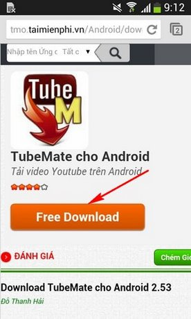 download Tubemate cho Oppo R5