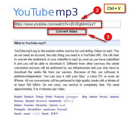 cach tai video nhac youtube bang youtube mp3