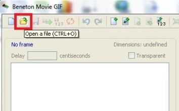 Tao anh dong bang Beneton Movie GIF