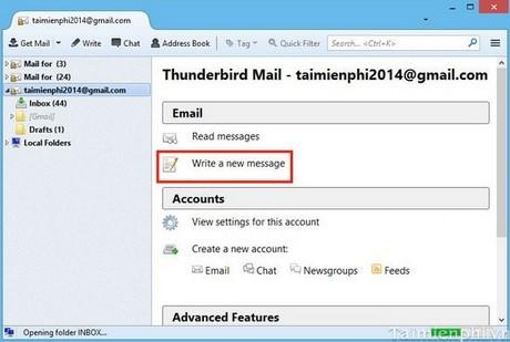Thunderbird insert signature