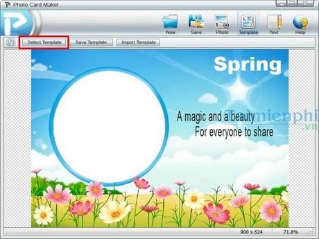 Photo Card Maker phần mềm thiết kế thiệp mừng miễn phí Tao-thiep-valentine-voi-photo-card-maker-1
