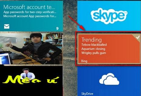 tat va xoa lich su tim kiem Bing Search tren Windows 8/8.1